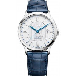 Buy Baume & Mercier Men's Watch Classima 10272 Dual Time Automatic