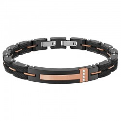 Buy Boccadamo Men's Bracelet Man ABR350D