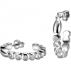 Buy Breil Ladies Earrings Rolling Diamonds TJ1568