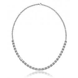 Breil Ladies Necklace Rolling Diamonds TJ1569