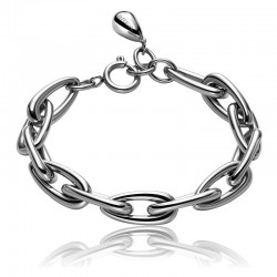 Buy Breil Ladies Bracelet Steel Rain TJ1631
