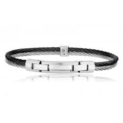 Buy Breil Men's Bracelet Cable TJ1828