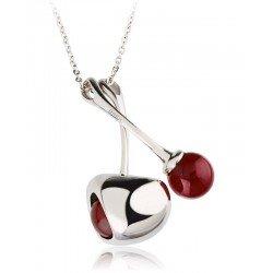 Buy Breil Ladies Necklace Red TJ1856