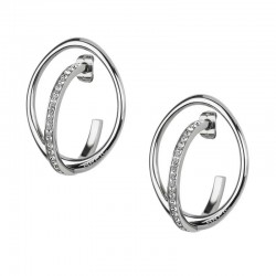 Buy Breil Ladies Earrings Mezzanotte TJ1900