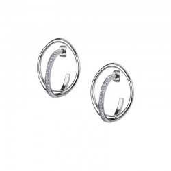 Buy Breil Ladies Earrings Mezzanotte TJ2196