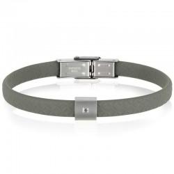 Buy Breil Mens Bracelet Black Diamond TJ2402