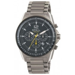 Breil Men's Watch Titanium TW1658 Solar Chronograph