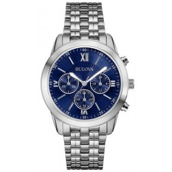 Buy Bulova Men's Watch Dress Quartz Chronograph 96A174