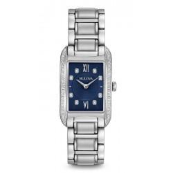 Buy Bulova Ladies Watch Curv Diamonds 96R211 Quartz