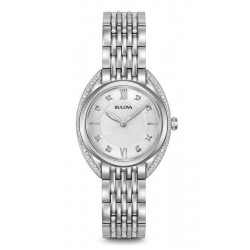 Buy Bulova Ladies Watch Curv Diamonds 96R212 Quartz