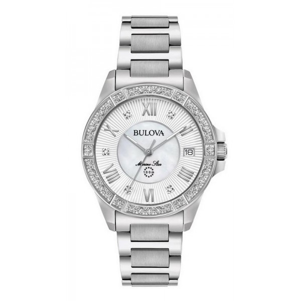 Buy Bulova Ladies Watch Marine Star Quartz 96R232