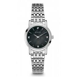 Buy Bulova Ladies Watch Diamonds 96S148 Quartz