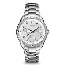 Bulova Ladies Watch Diamonds 96S152 Quartz