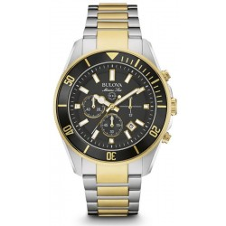 Bulova Men's Watch Marine Star 98B249 Quartz Chronograph