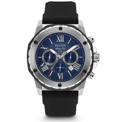 Bulova Men's Watch Marine Star 98B258 Quartz Chronograph