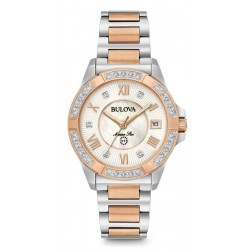 Bulova Ladies Watch Marine Star Quartz 98R234