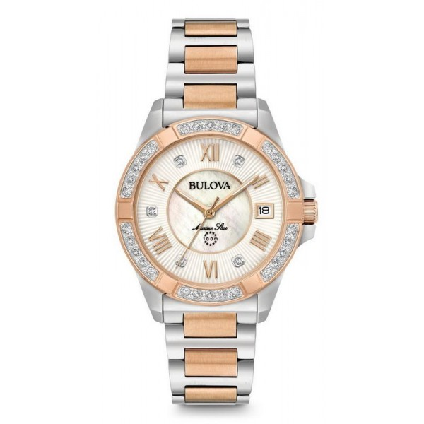 Buy Bulova Ladies Watch Marine Star Quartz 98R234