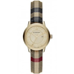 Buy Burberry Ladies Watch The Classic Round BU10104