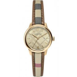 Buy Burberry Ladies Watch The Classic Round BU10114