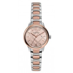 Buy Burberry Ladies Watch The Classic Round BU10117