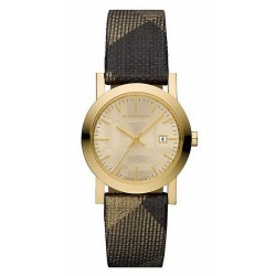 Buy Burberry Ladies Watch The City Nova Check BU1875
