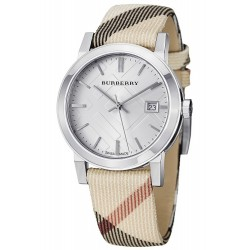Buy Burberry Ladies Watch The City Nova Check BU9113