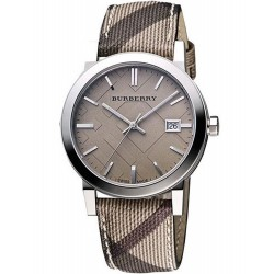 Buy Burberry Ladies Watch The City Nova Check BU9118