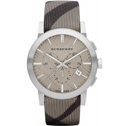 Buy Burberry Men's Watch The City Nova Check BU9358 Chronograph