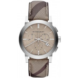 Buy Burberry Men's Watch The City Nova Check BU9361 Chronograph