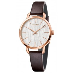 Buy Calvin Klein Ladies Watch Even K7B236G6