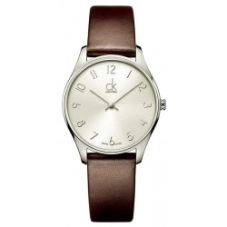 Buy Calvin Klein Ladies Watch New Classic K4D221G6