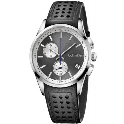 Buy Calvin Klein Men's Watch Bold K5A371C3 Chronograph