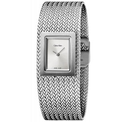 Buy Calvin Klein Ladies Watch Mesh K5L13136