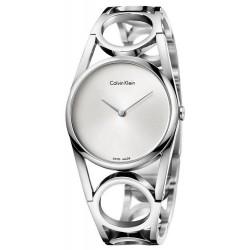 Buy Calvin Klein Ladies Watch Round K5U2M146