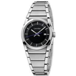 Buy Calvin Klein Ladies Watch Step K6K33143