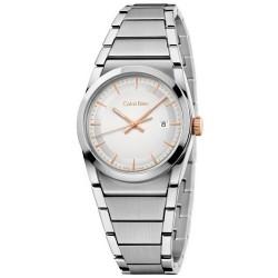 Buy Calvin Klein Ladies Watch Step K6K33B46