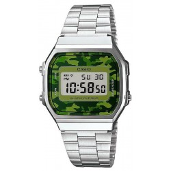 Buy Casio Vintage Unisex Watch A168WEC-3EF