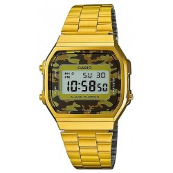 Casio Vintage Unisex Watch A168WEGC-5EF