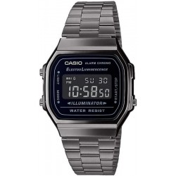 Buy Casio Vintage Unisex Watch A168WEGG-1BEF