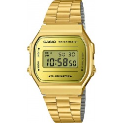 Buy Casio Vintage Unisex Watch A168WEGM-9EF