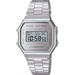 Buy Casio Vintage Unisex Watch A168WEM-7EF