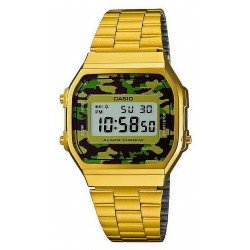 Buy Casio Collection Unisex Watch A168WEGC-3EF