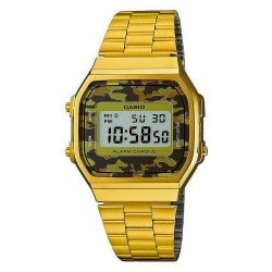 Buy Casio Collection Unisex Watch A168WEGC-5EF