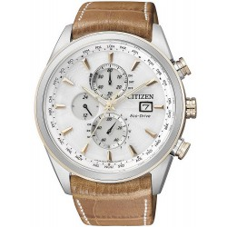 Citizen Men's Watch Chrono Eco-Drive Radio Controlled AT8017-08A