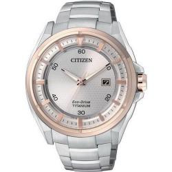 Citizen Men's Watch Super Titanium Eco-Drive AW1404-51A