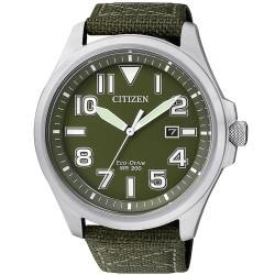 Citizen Men's Watch Military Eco-Drive AW1410-32X