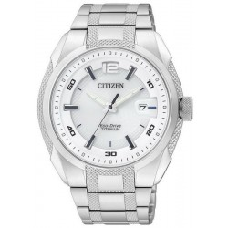 Citizen Men's Watch Super Titanium Eco-Drive BM6900-58B