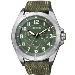 Citizen Men's Watch Military Eco-Drive BU2030-09W Multifunction