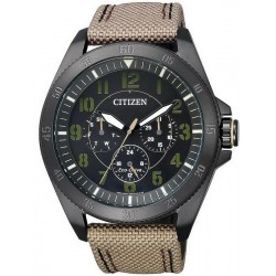 Citizen Men's Watch Military Eco-Drive BU2035-05E Multifunction