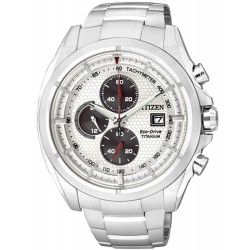 Citizen Men's Watch Super Titanium Chrono Eco-Drive CA0550-52A